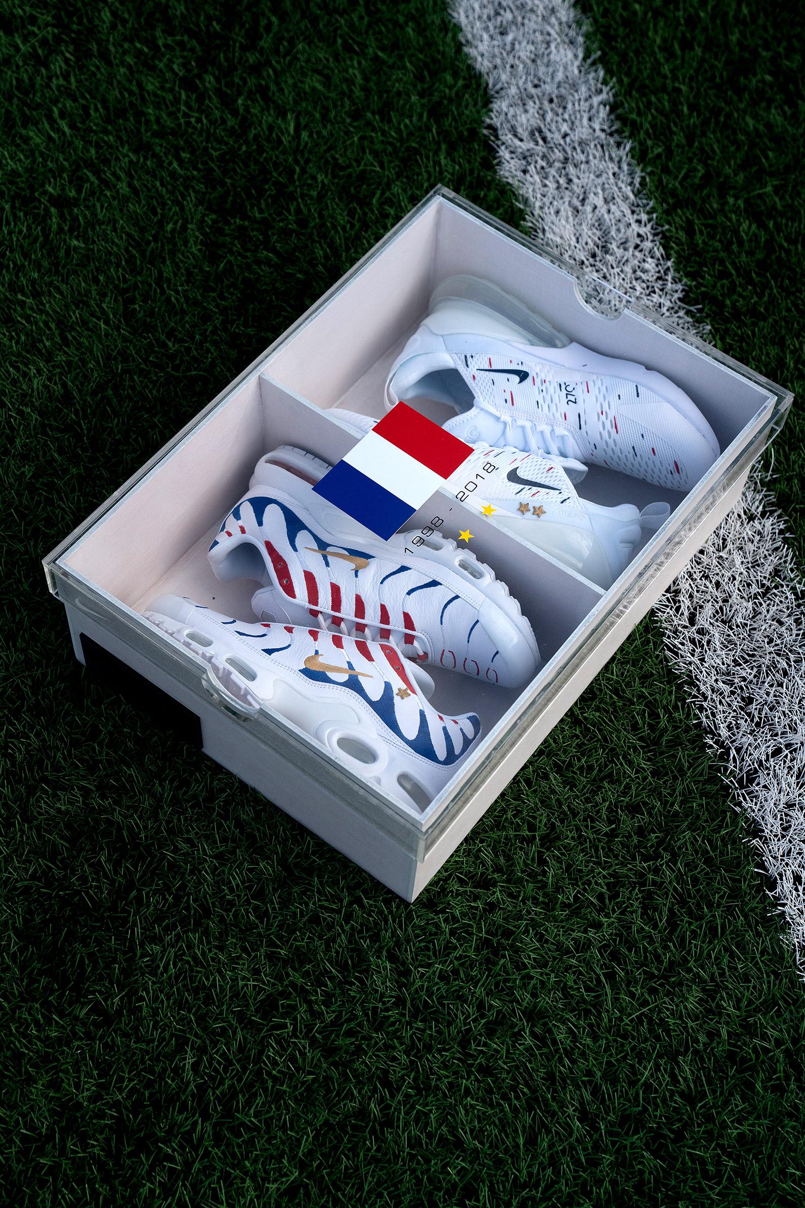 sports shoes 03def edebb WAVE crée un pack de sneakers Nike en l u0027honneur de Kylian Mbappé , Son  of sneakers ...