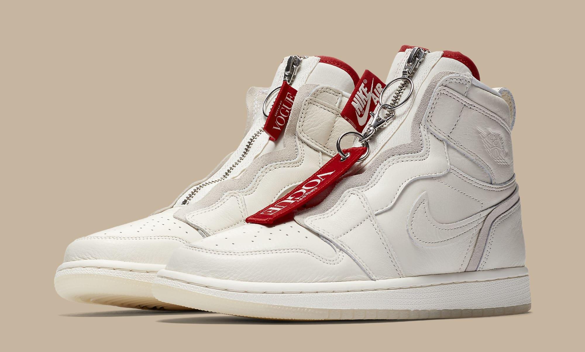 VOGUE x Nike : du zip et du tweed pour les Air Jordan Son