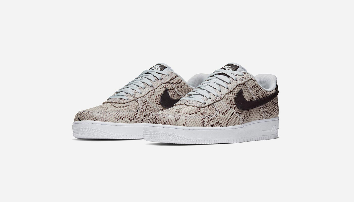 L'inédite Nike Air Force 1 Snakeskin Son of sneakers