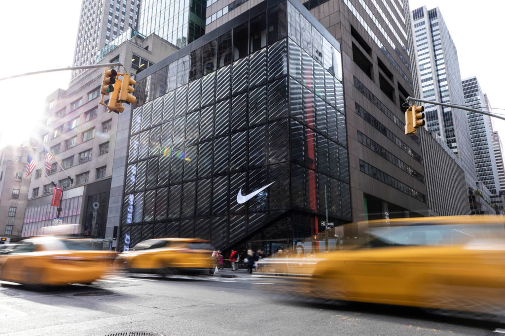 Boutique Nike à New York