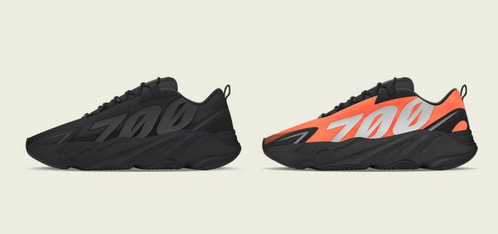 Yeezy Boost 700 MNVN Black et Orange